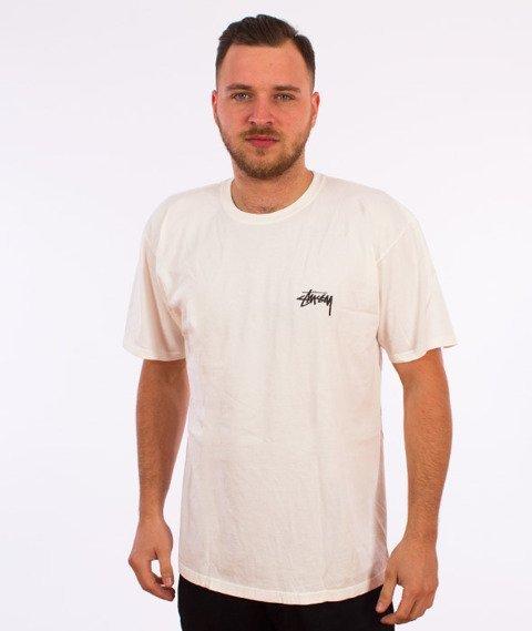 Stussy-Global Designs Pig. Dyed T-Shirt Natural