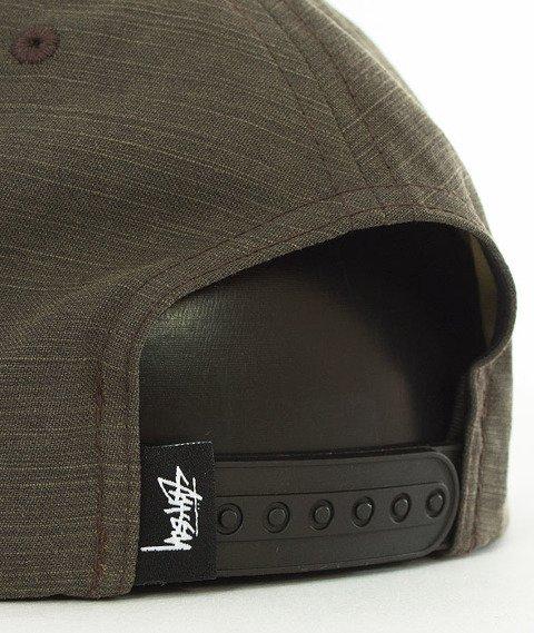 Stussy-Logo Fusion Cap Snapback Czapka Black