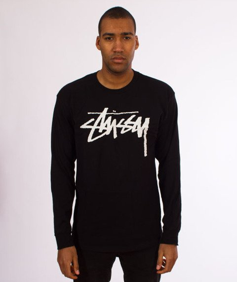 Stussy-Old Stock Longsleeve Black