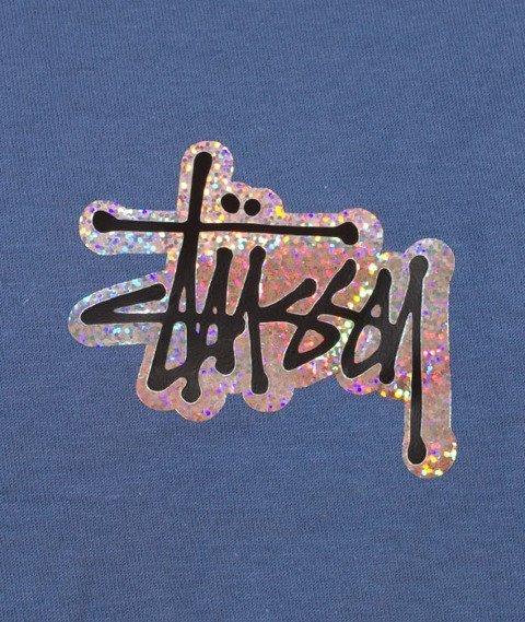 Stussy-Prism Logo T-Shirt Steel Blue