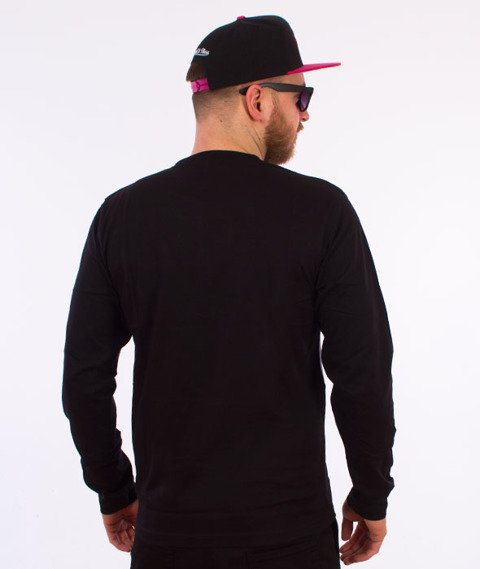 Stussy-Split Panel Jersey Black