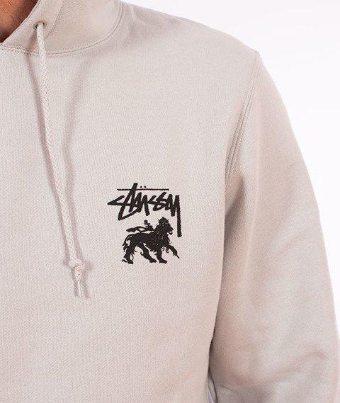 Stussy-Stock Lion Hood Bluza Kaptur Fog