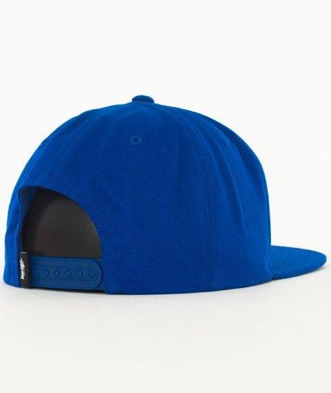 Stussy-Stock Lock Cap Snapback Czapka Blue