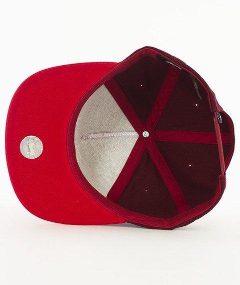 Stussy-Stock Lock Sp17 Snapback Czapka Red