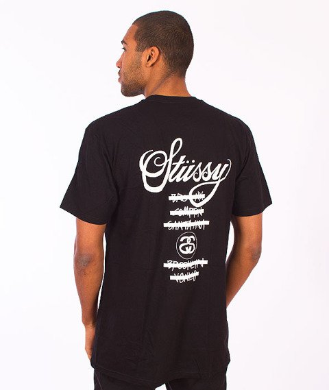 Stussy-WT Taped Tee Black