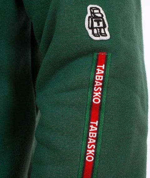 Tabasko-Big Logo Bluza Kaptur Zielona