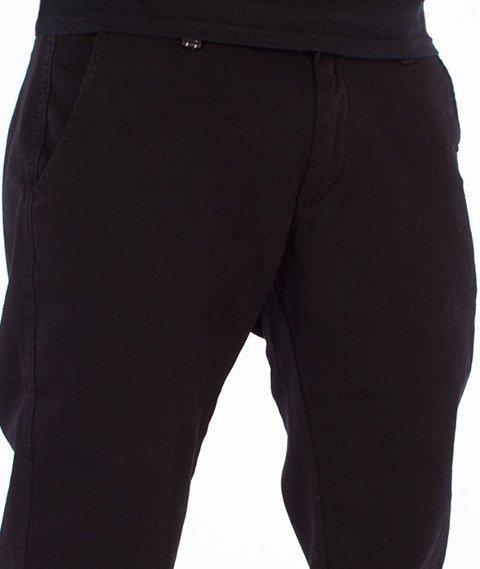 Tabasko-Classic Spodnie Jeansowe Czarne