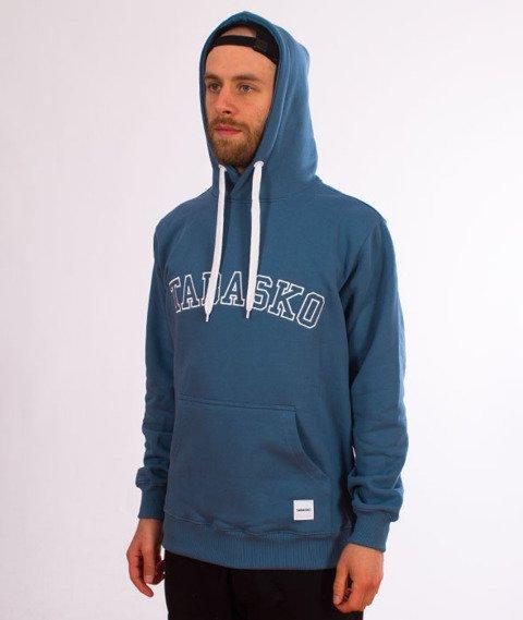 Tabasko-College Bluza Kaptur Blue