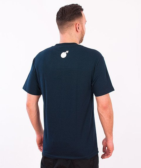 The Hundreds-Forever Bar T-Shirt Navy