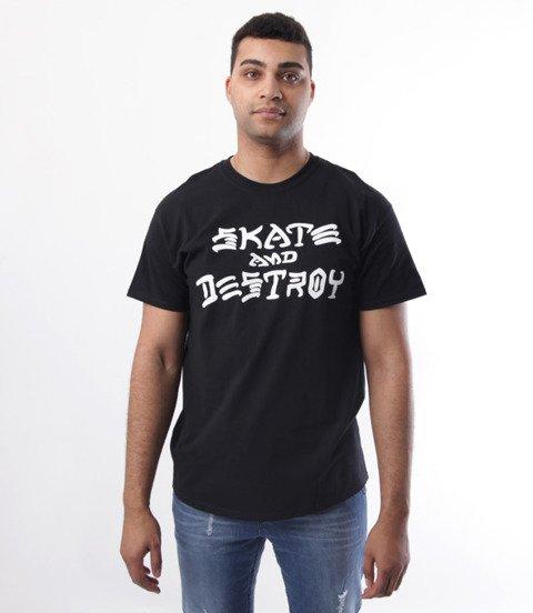 Thrasher-Skate And Destroy T-Shirt Czarny