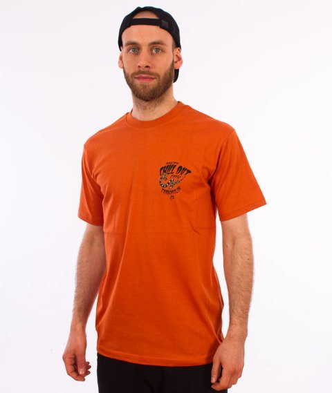Turbokolor-Agressive T-Shirt Orange