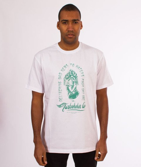 Turbokolor-Bad News T-Shirt White