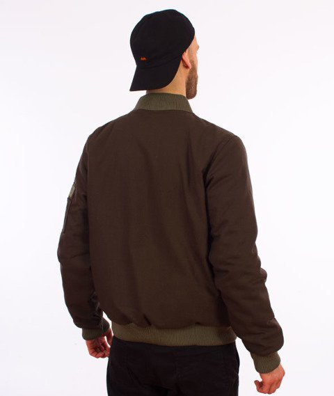 Turbokolor-Bomber Jacket Khaki