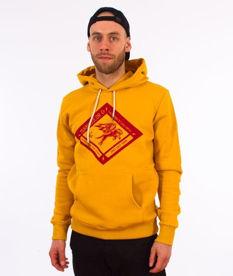 Turbokolor-Boxer Diamond Hoodie Yellow