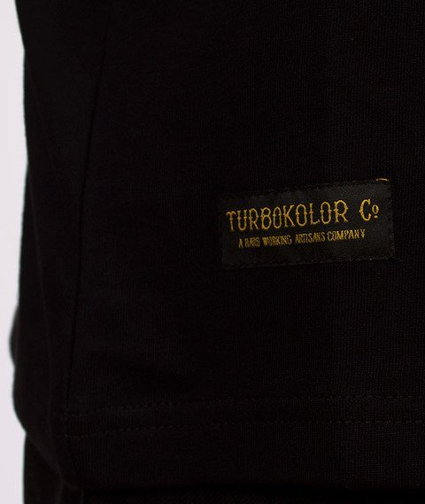 Turbokolor-Champagne T-Shirt Black