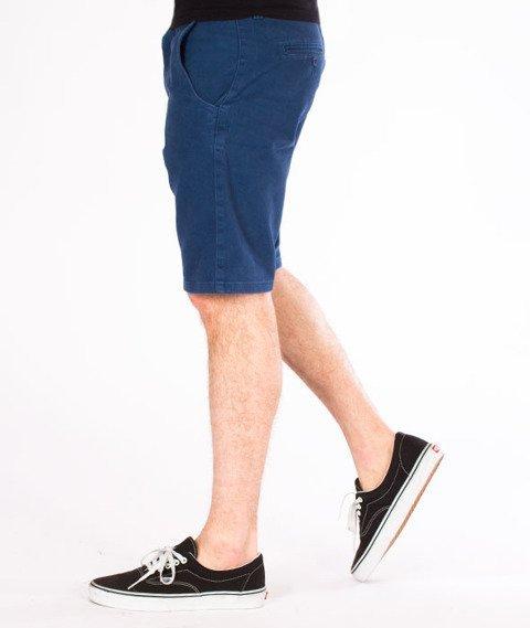 Turbokolor-Chino Shorts Spodnie Navy
