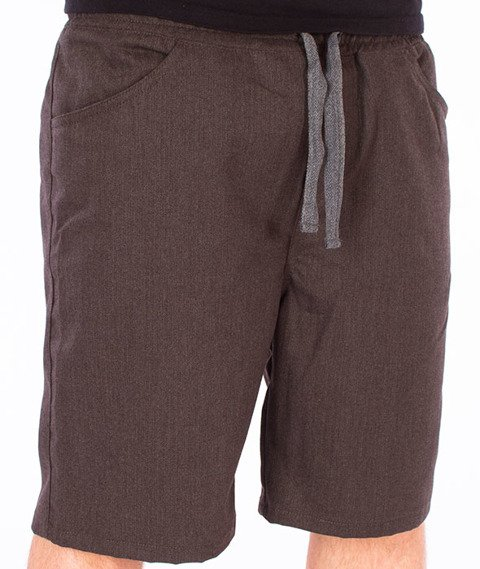 Turbokolor-Deck Crew Shorts Spodnie Brown