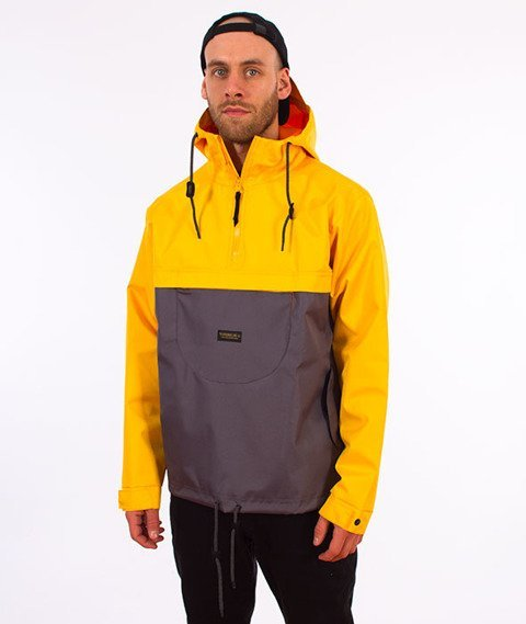 Turbokolor-Freitag Jacket Grey Yellow