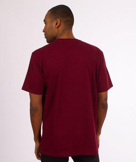 Turbokolor-Lotos T-Shirt Burgundy
