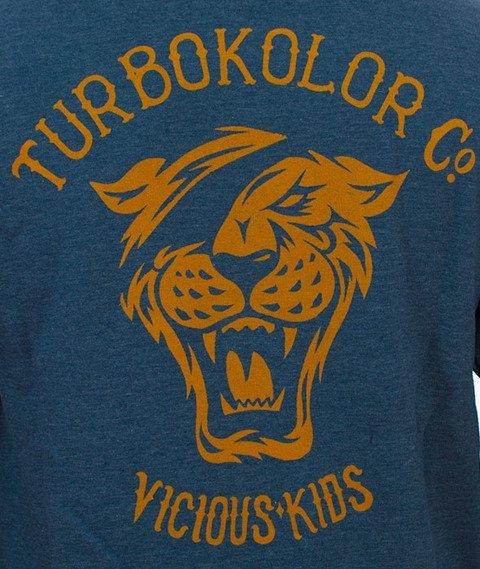 Turbokolor-OG Tiger Bluza Kaptur Zip Heather Navy
