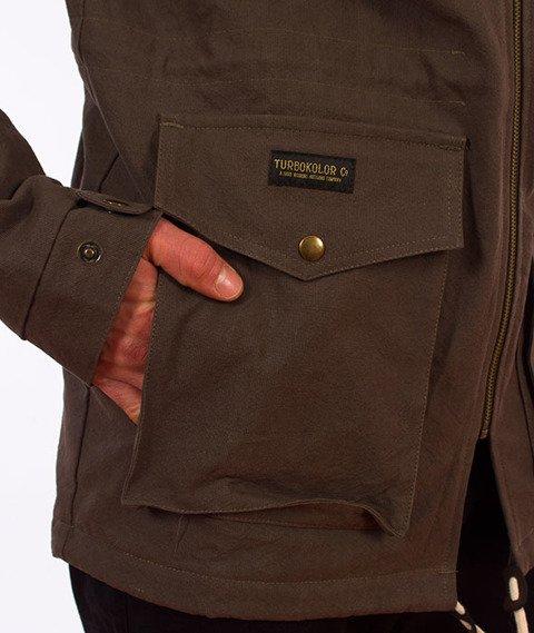 Turbokolor-Parka Jacket Khaki