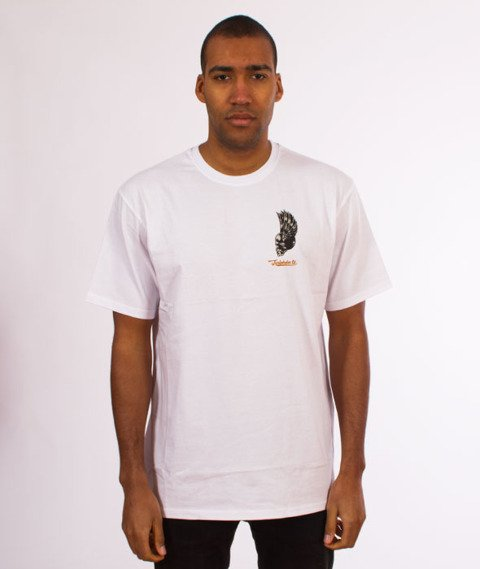 Turbokolor-Petrol T-Shirt White