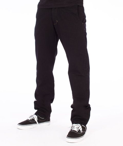 Turbokolor-Premium Chino Spodnie Black