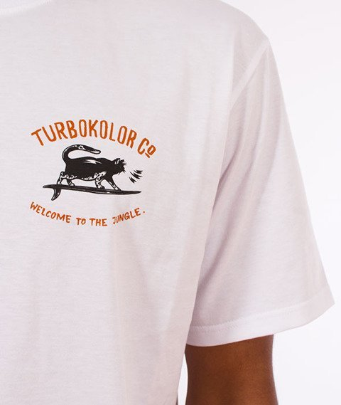 Turbokolor-Shaka T-Shirt White