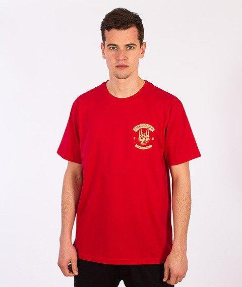 Turbokolor-Shephard T-Shirt Red SS16
