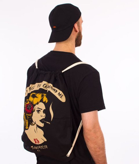 Turbokolor-Shoe Bag Trust Black