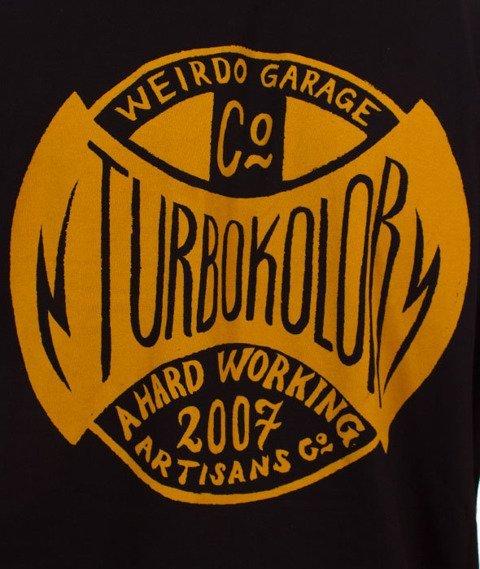 Turbokolor-Simple Thread Oval T-Shirt Black