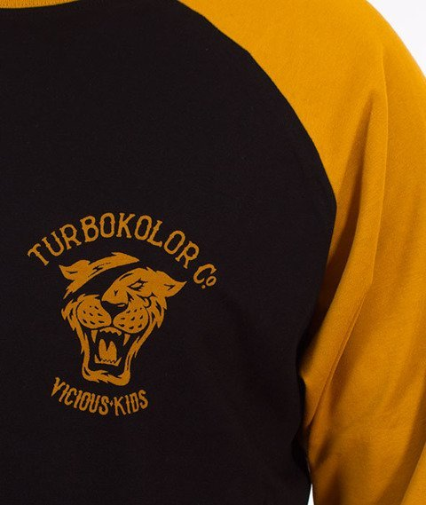Turbokolor-TK Longsleeve Black/Yellow