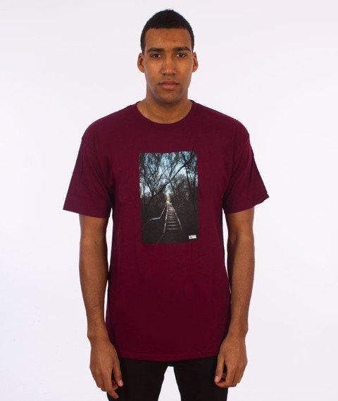 Visual-Entryway T-Shirt Maroon