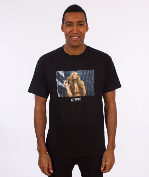 Visual-Twist T-Shirt Black