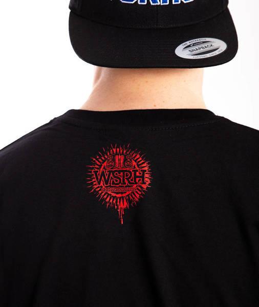WSRH SQUARE T-Shirt Czarny