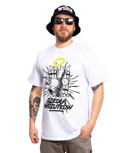 WSRH SZKOŁA WYRZUTKÓW T-Shirt Biały
