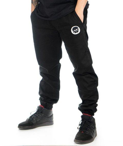 WSRH-Skull Spodnie Jogger Czarne