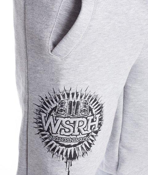 WSRH-Słońce Spodnie Dresowe Szare