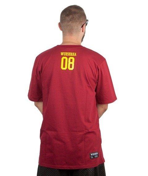 WSRH-Słońce T-shirt Bordowy