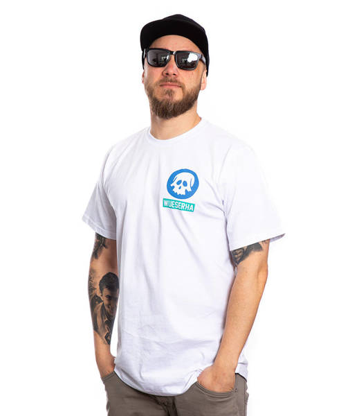 WSRH WUESERHA T-Shirt Biały