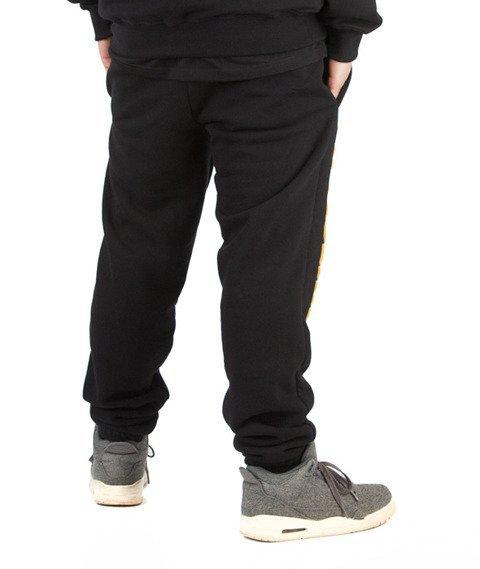 WSRH-WueSeRHa Spodnie Dresowe Czarne