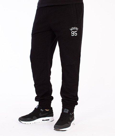 Wrung-Ninety Five Spodnie Dresowe Czarne