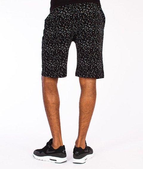 Wrung-Wang Spodnie Krótkie Czarne