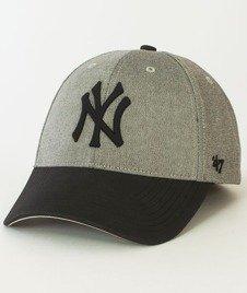 47 Brand-All In New York Yankees Czapka z Daszkiem Szara/Czarna
