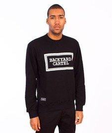 Backyard Cartel-Label Logo Crewneck Black