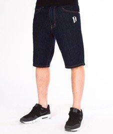 Biuro Ochrony Rapu-Classic Borcrew Szorty Jeans Krótkie Spodnie Dark