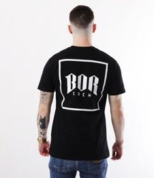 Biuro Ochrony Rapu-New Kwadrat T-shirt Czarny