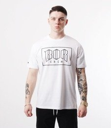 Biuro Ochrony Rapu-New Outline T-shirt Biały