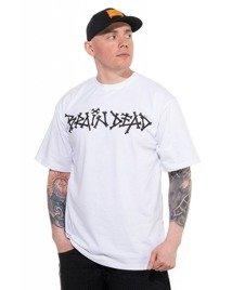 Brain Dead Familia-Bone T-shirt Biały