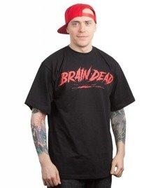 Brain Dead Familia-Brain Dead T-shirt Czarny